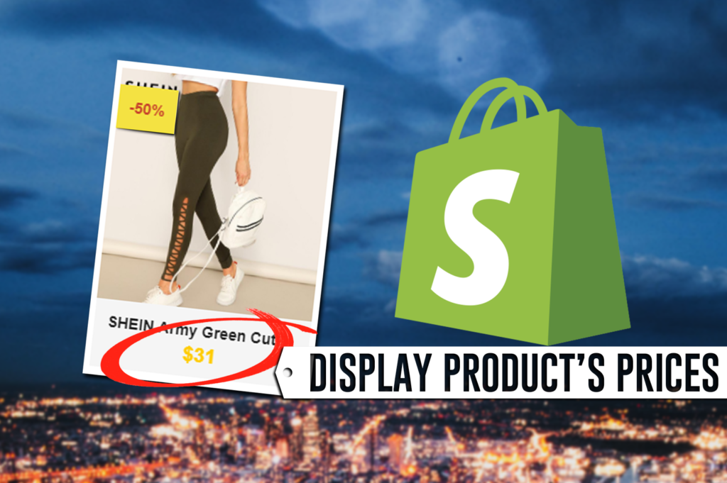 How To Display Shopify Product Prices using PHP and Shopify API 2019-04