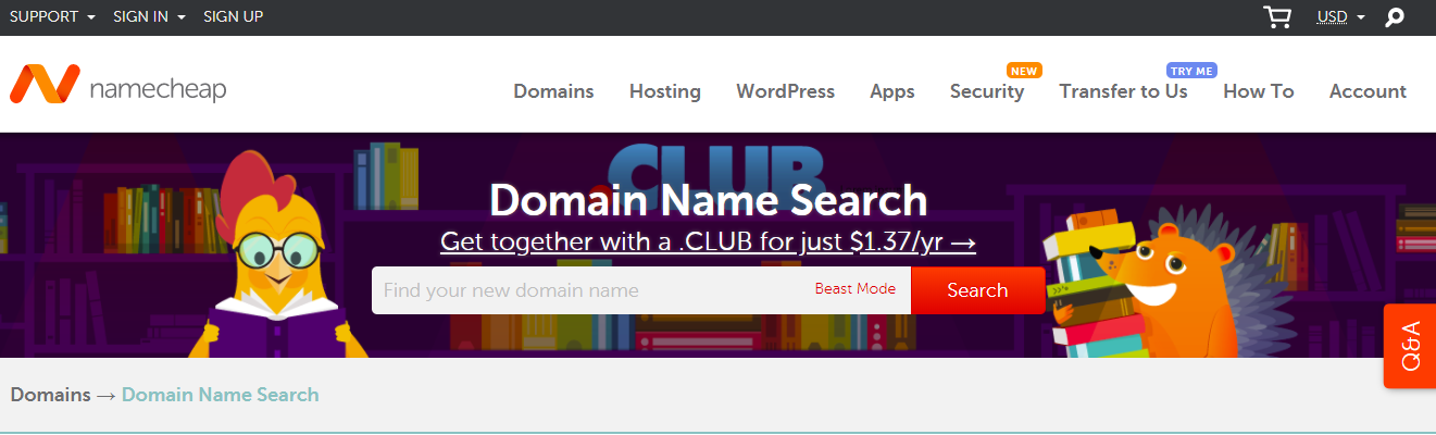 Free tools to check domain name availability with Name.com