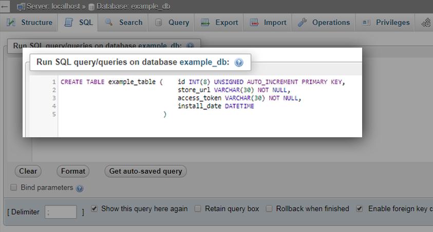 How to Create a Database for Shopify App API Development Tutorial