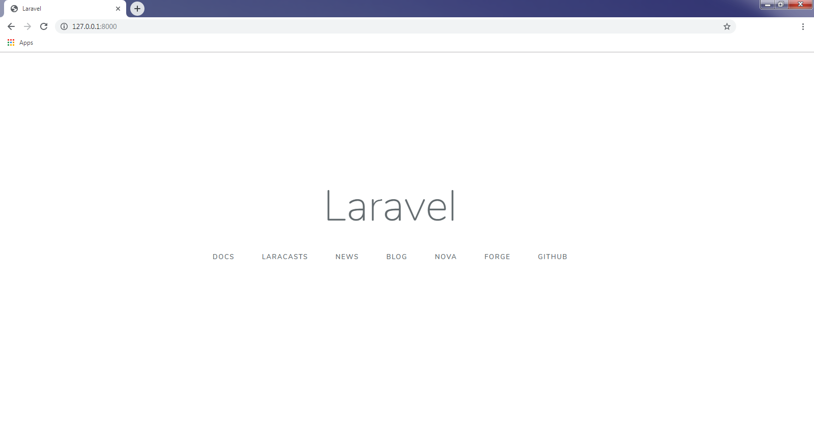 First look at laravel's introduction and interface