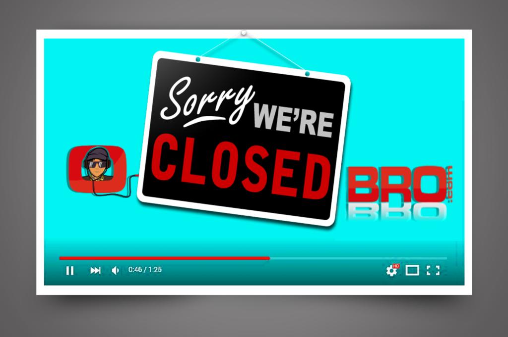 SaveClipBro - Sorry We're Closed Bro - SaveClipBro Shuts down