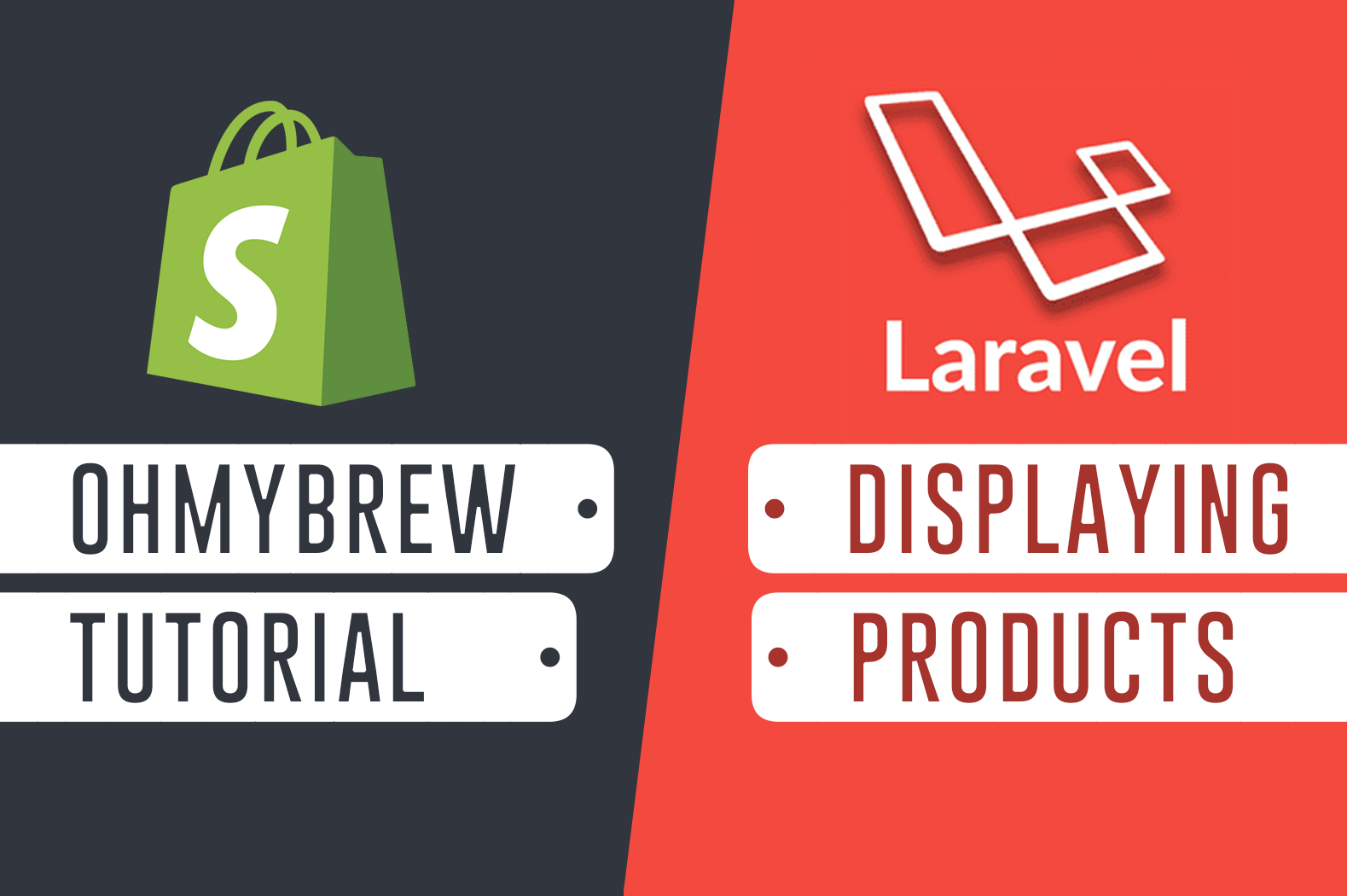 Shopify App Development with Laravel and Ohmybrew - Displaying Productspng