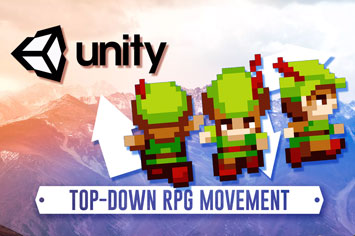 Unity 2D Animation: Top-Down Unity Player Movement