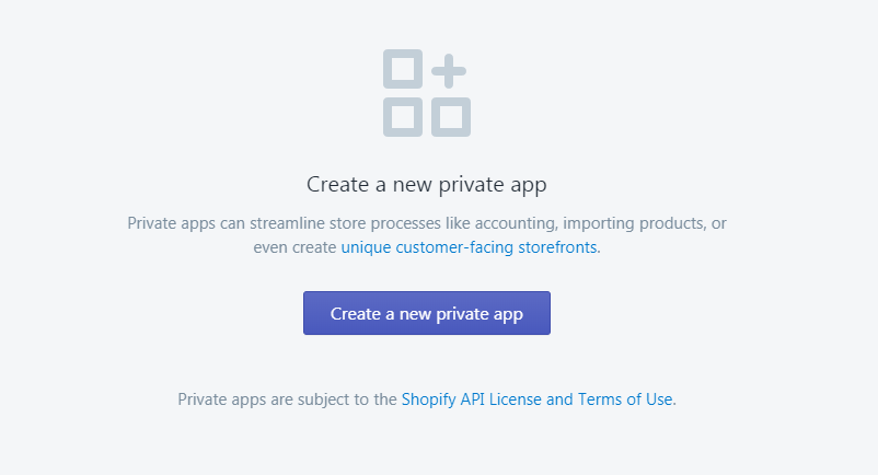 Building a new Shopify private app with ThemeKit Shopify