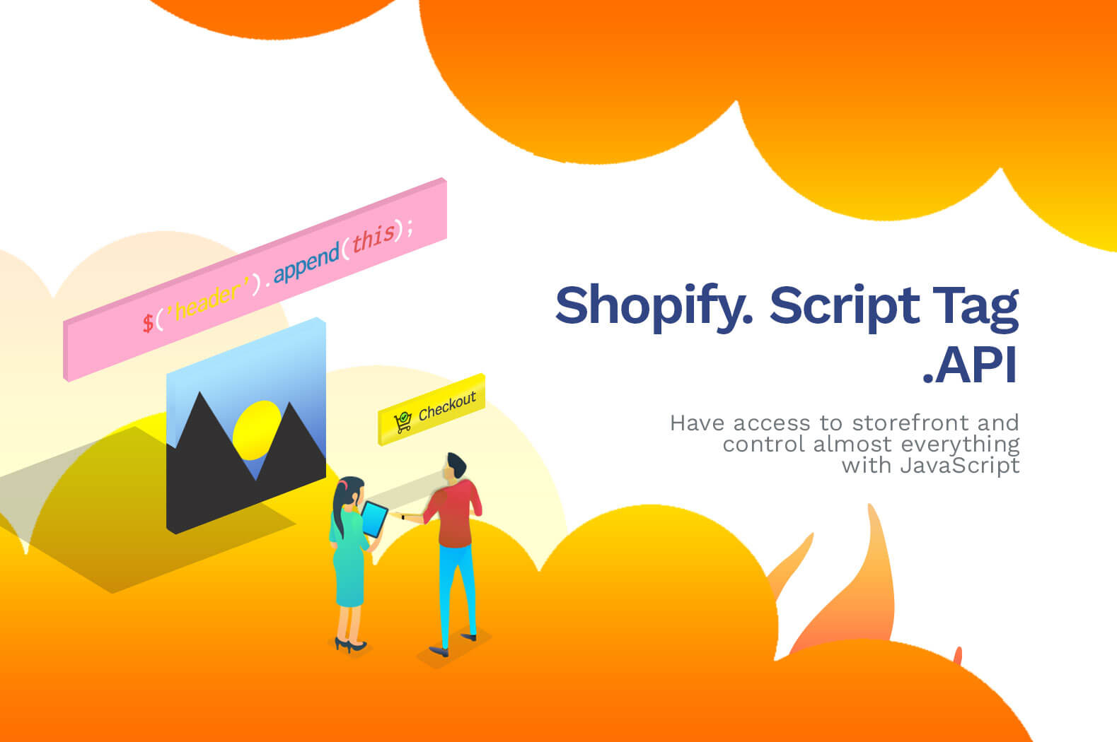 How to Display HTML in Shopify Store with Shopify App (Script Tag)