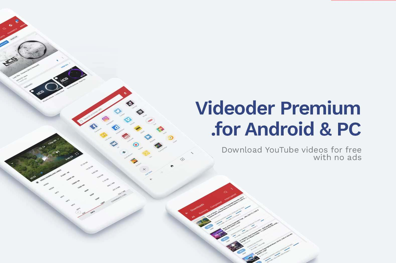 How To Download Videoder Premium APK for Android and PC