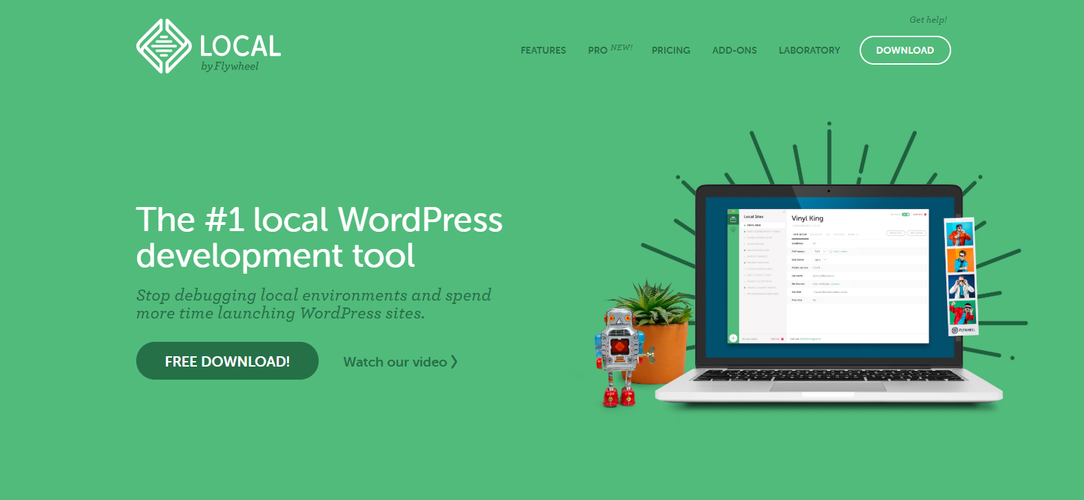 Local by Flywheel - Your #1 local development tool for WordPress Theme Development