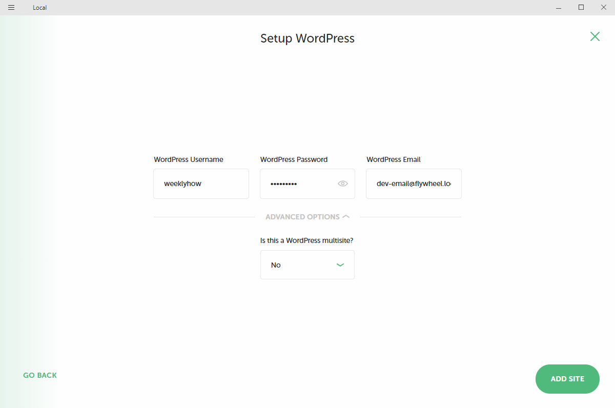 Setting Up WordPress using Local by FlyWheel for WordPress theme development tutorials for beginners