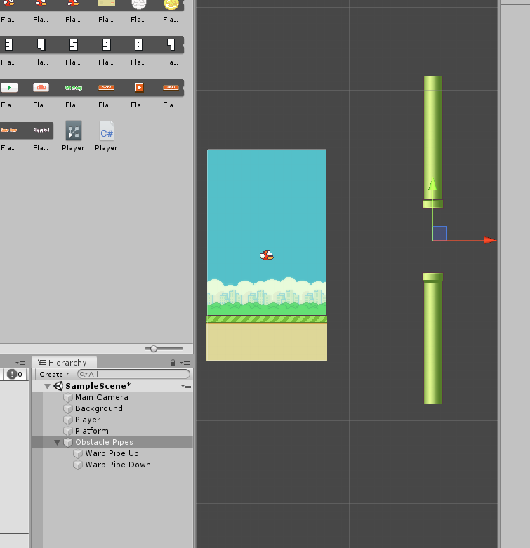 Making Warp Pipes for Flappy Bird Game