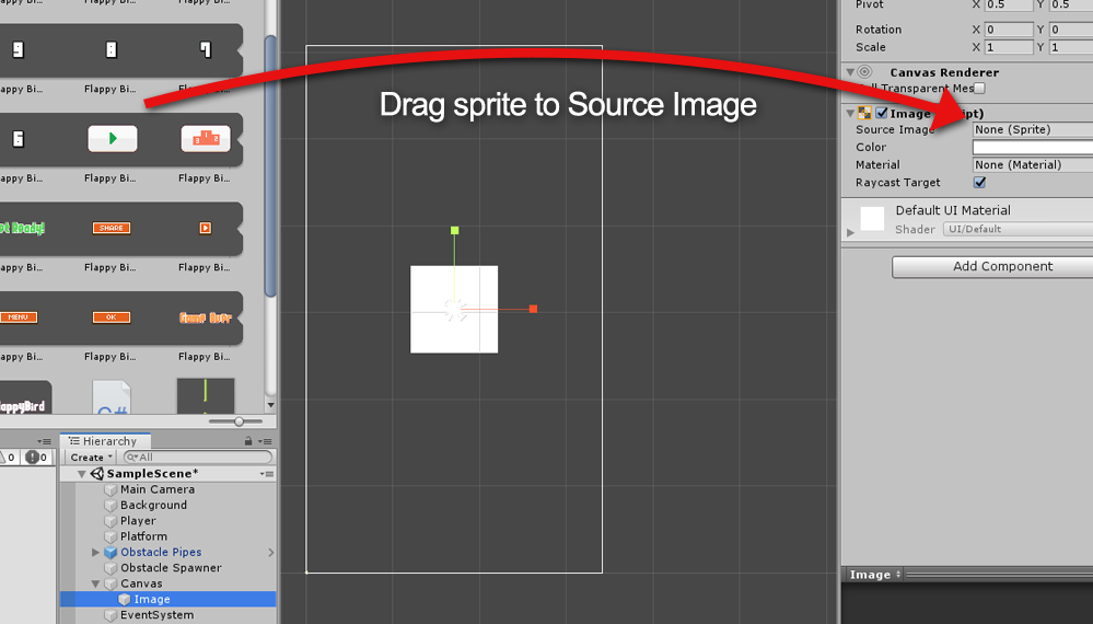 Assigning sprite to Image UI Component
