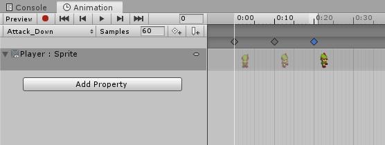 Adjusting unity animation keyframes