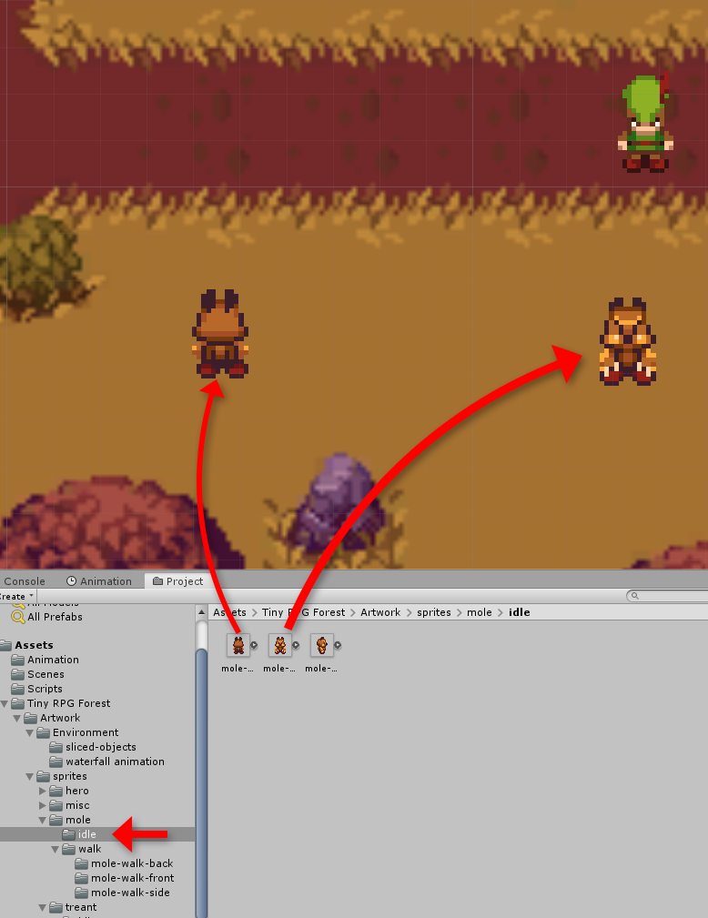 Making enemies with Unity