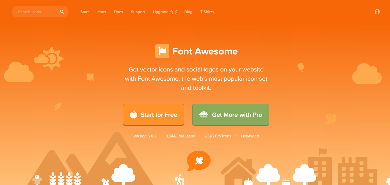 Font Awesome Official Webpage