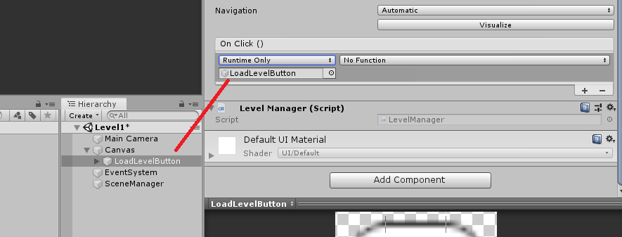 assigning functions in unity UI button on click