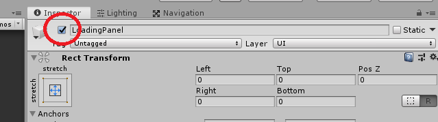 disabling a game object in unity 3d