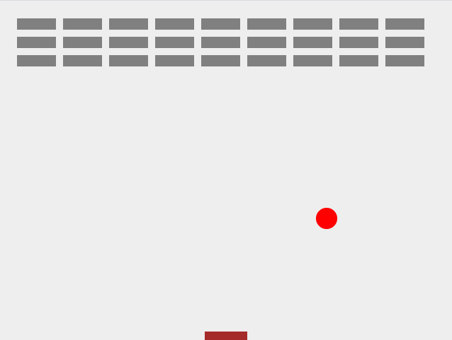 creating brick array for pong game using vanilla javascript and html5 canvas