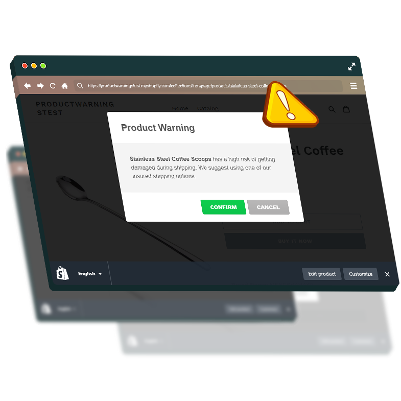 Shopify Product Warnings and Notifications by WeeklyHow