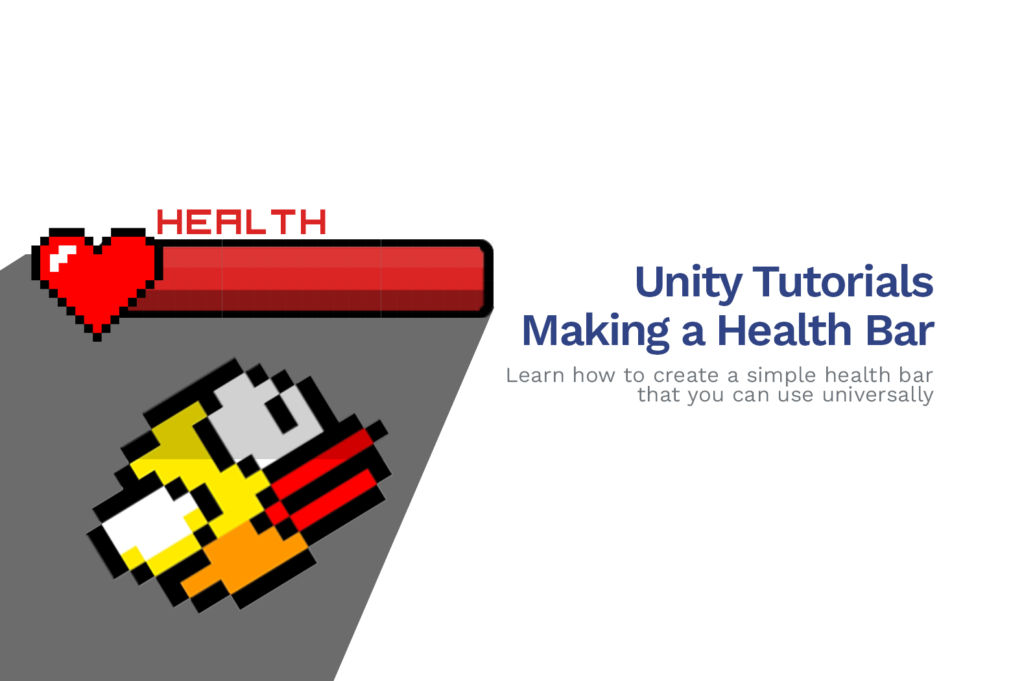 Unity Tutorials: How To Make a Health Bar in Unity!