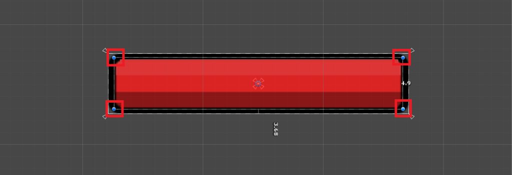 resizing the health bar