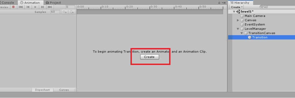 unity 3d creating animation