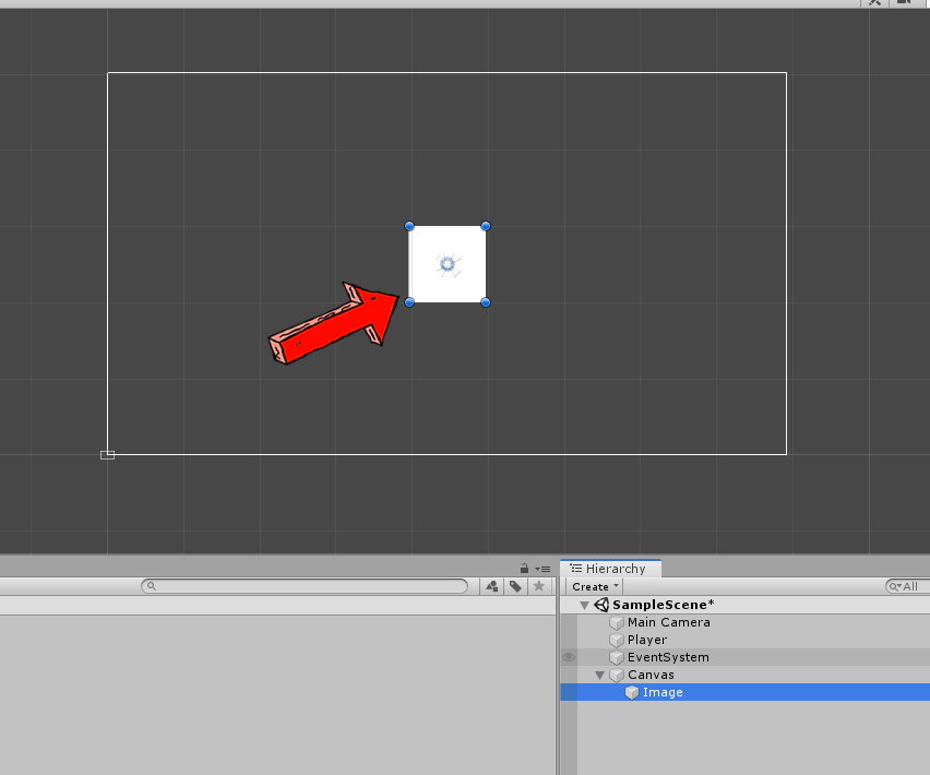 repositioning an image with unity 3d