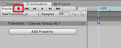 unity 3d recording animation