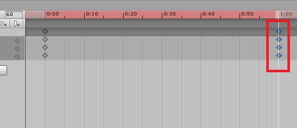 unity 3d keyframes timeline animation