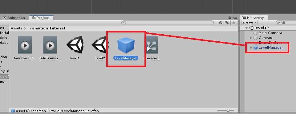 unity 3d saving game objects to prefab