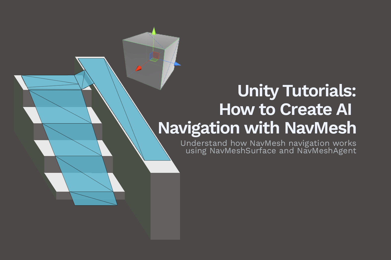 Unity Tutorial: How to Create AI Navigation with NavMesh