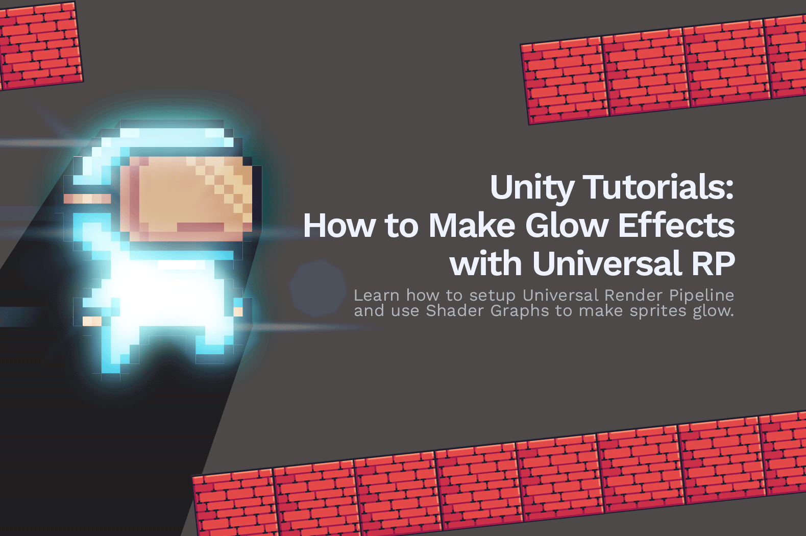 Unity Tutorials: How to Make Glow Effects in 2D