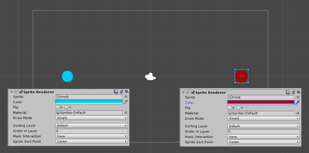 unity 3d chaning sprites color