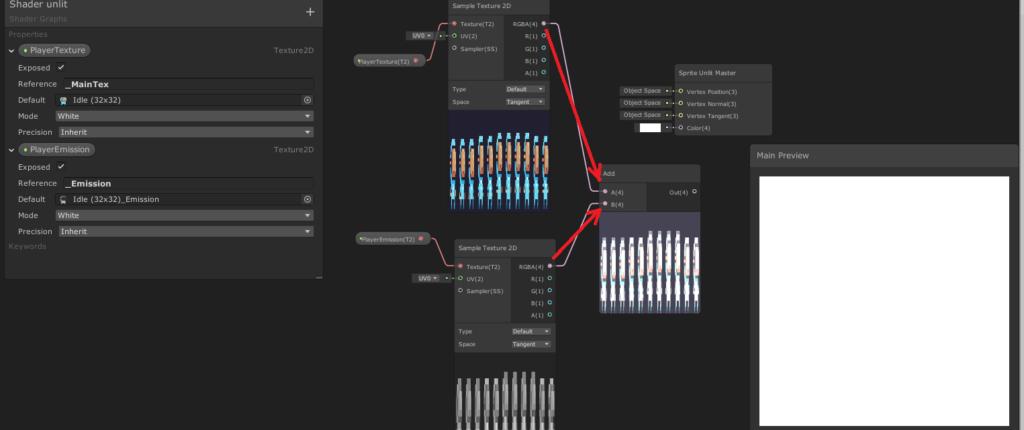 unity shader add node