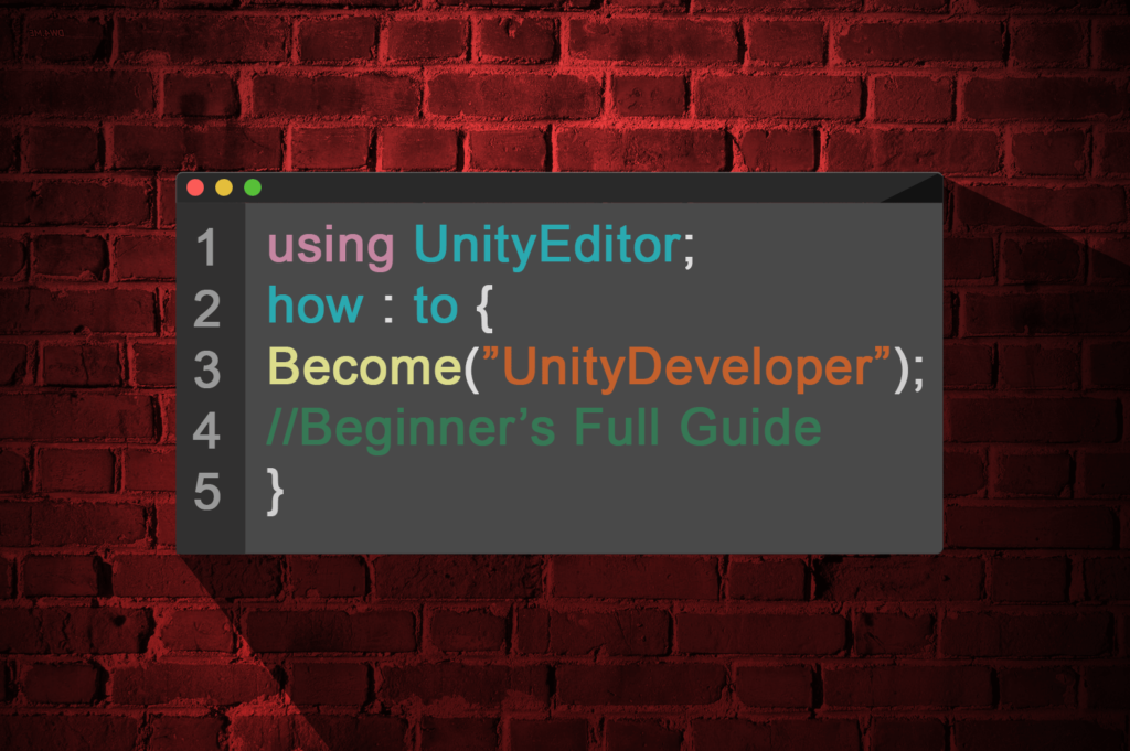How to Become A Unity Developer (Complete Beginner's Guide)