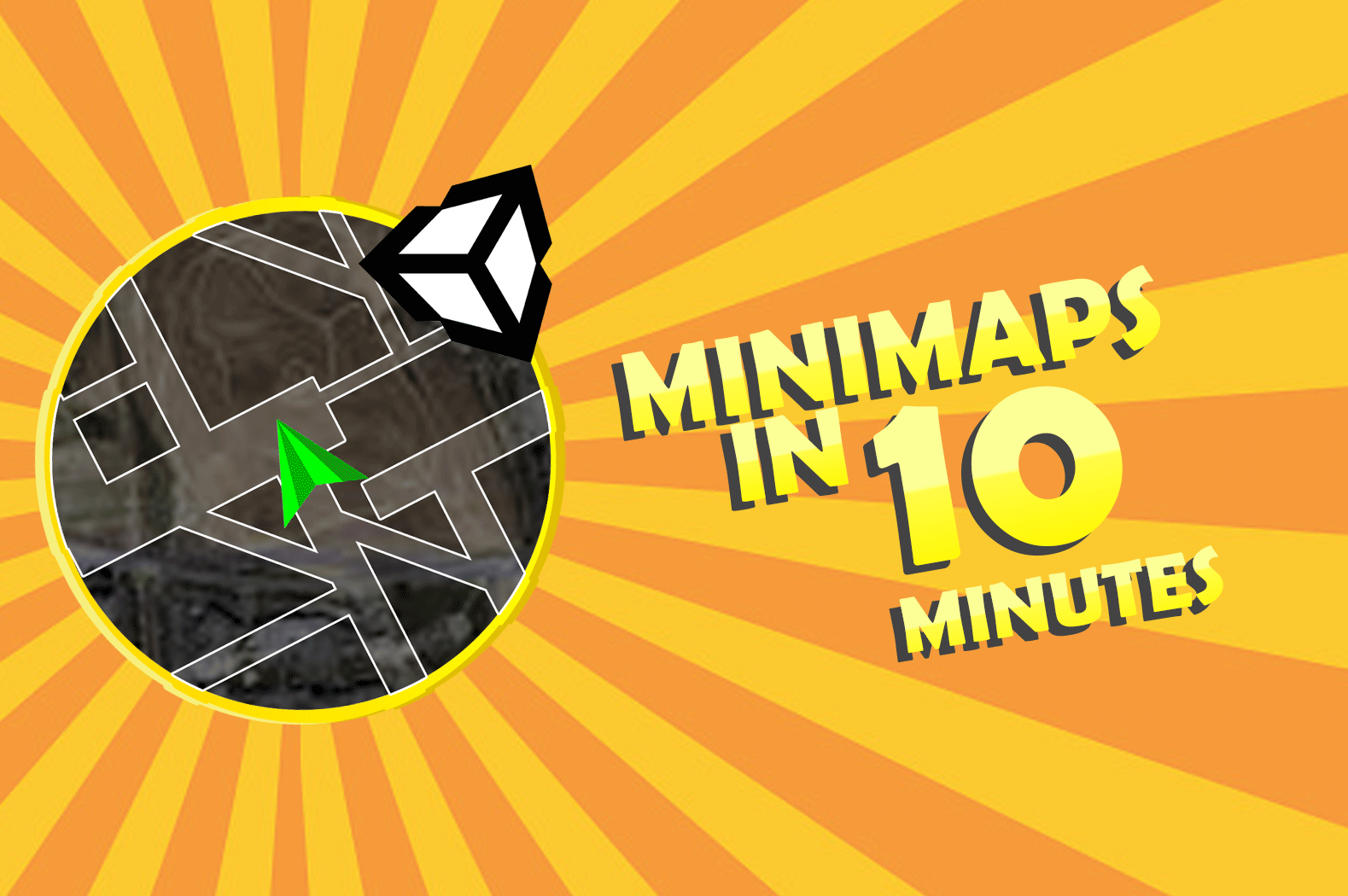 Unity Tutorials: How to make a MINIMAP in 10 Minutes