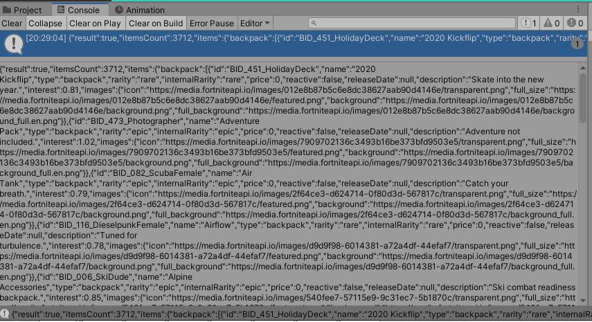 Unity Web Request JSON Tutorial