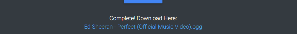 Anything2Mp3 download example