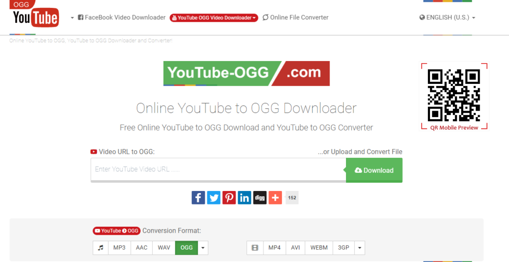 YouTube-OGG - Online YouTube to OGG Downloader