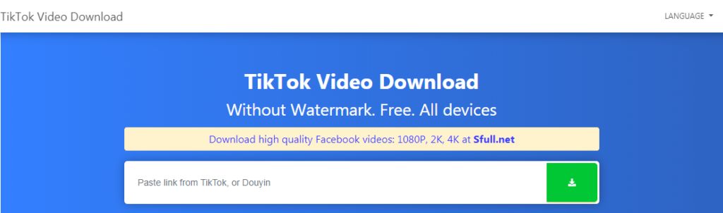 SnapTik App - TikTok Video Downloader