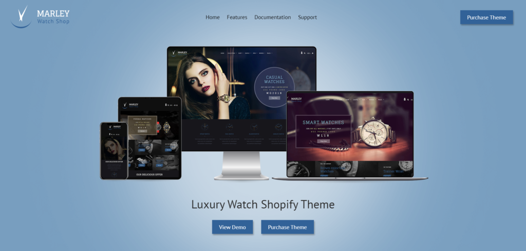 best shopify themes in 2020 featuring markley