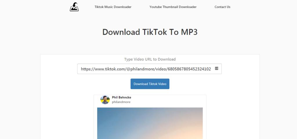 DownloadEri - TikTok Music Downloader