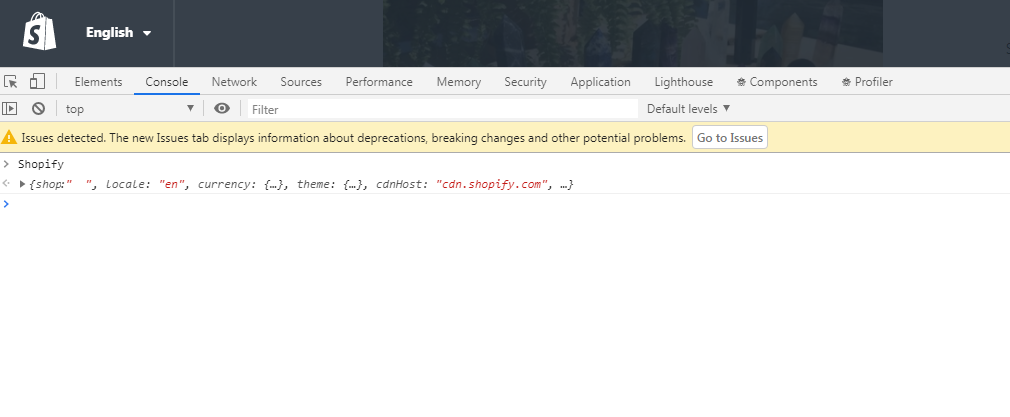 Checking if Shopify has an error