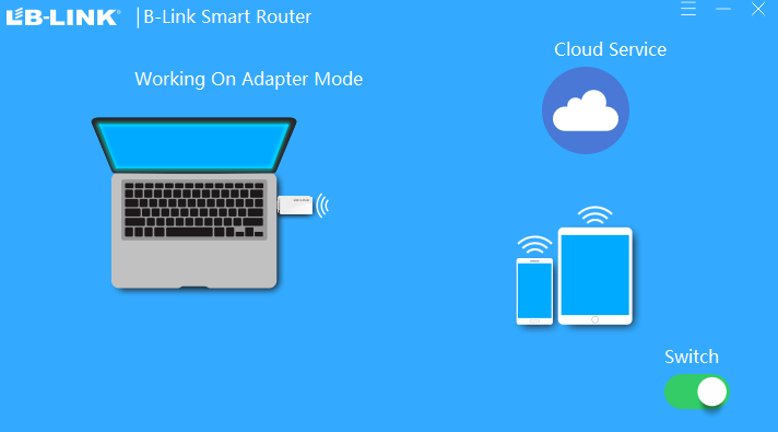 WIFI usb adapter software LB-Link Smart Router