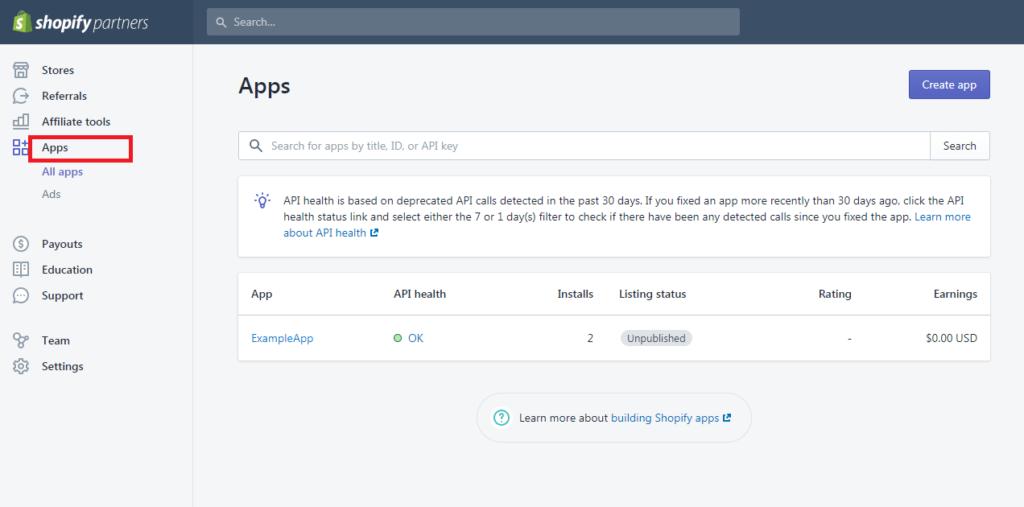 Shopify App Development Tutorial PHP