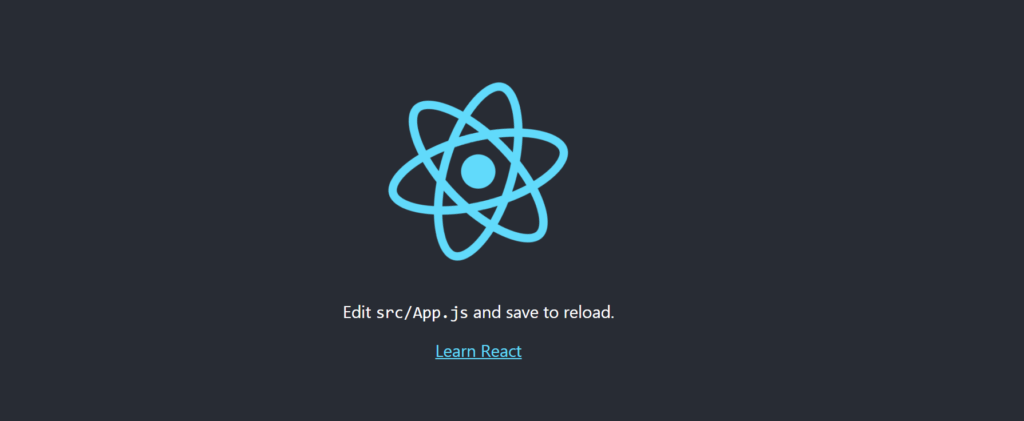 react new project web application