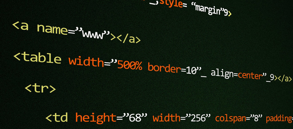 weird way to style in html