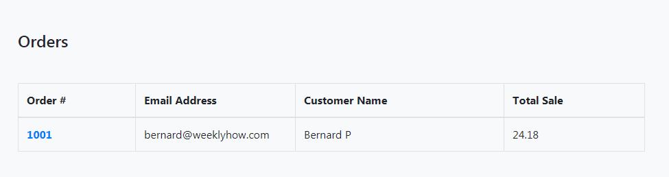 shopify order listing api