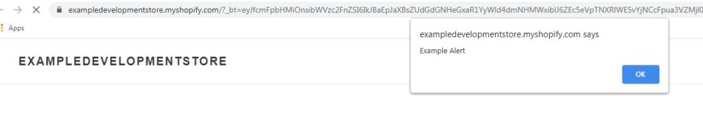 JavaScript Alert